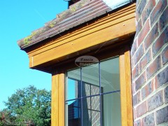 Light oak UPVC fascia