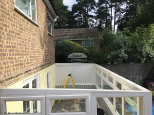 Lean to conservatory roof removal