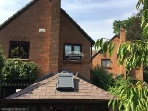 Replace conservatory roof with tiled roof
