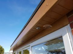 Install new LED lighting in new UPVC soffits