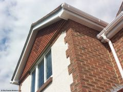 UPVC bargeboards and soffit replacement