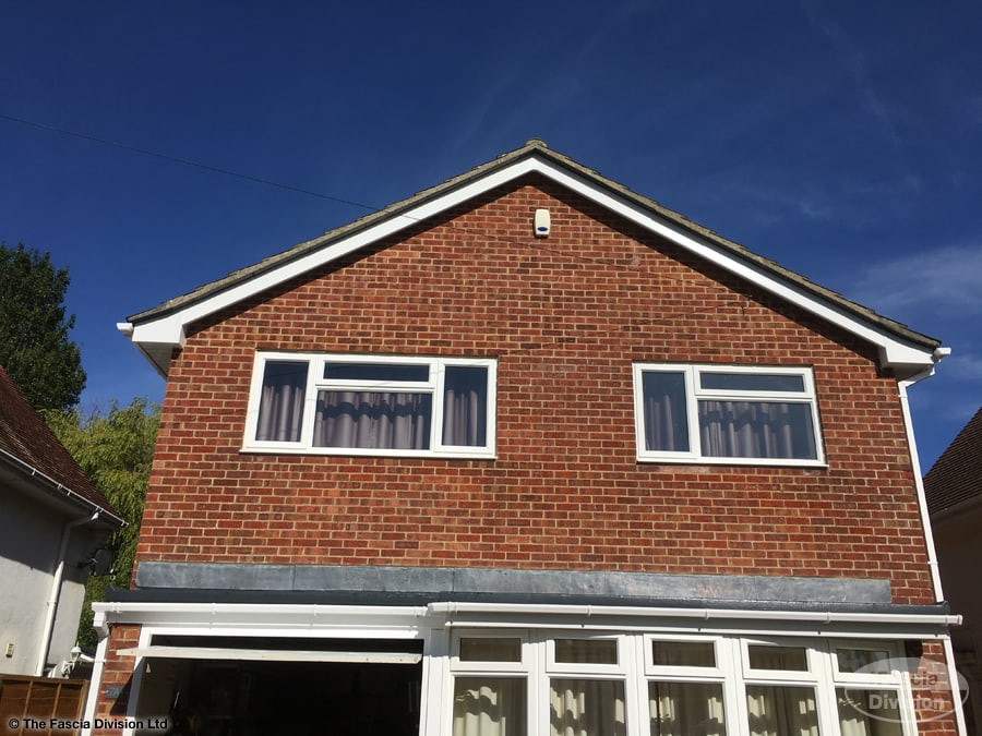 Fascia, soffit and guttering installation