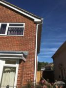White UPVC fascia, soffit and guttering