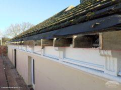 during replacement fascias soffits