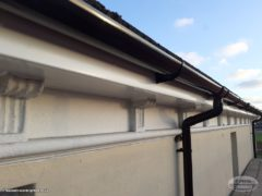 nnew installation of fascias and soffits Brighton
